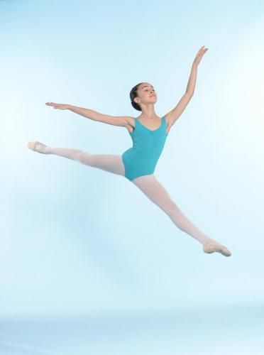Sissonne arabesque-danse classique